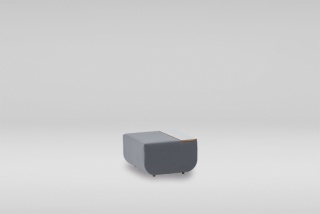 LINK pouffe with top