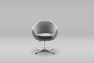 OLIN OFFICE 1 BK ARMCHAIR