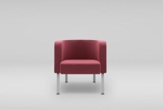 NEON M armchair, metal legs